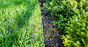 Bordures de séparation métalliques pour jardins
