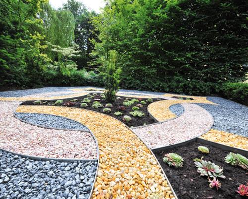 Edgi Alu/Corten bordures métalliques pour jardins publics ou privés