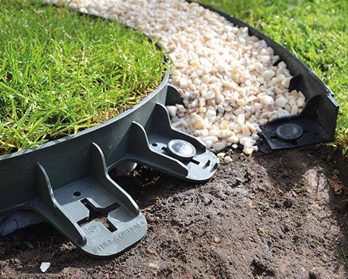 Edgi PP/PE bordure en plastique souple pour jardin