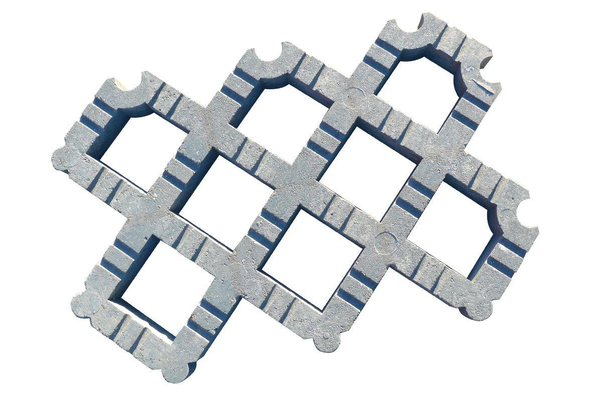 TrafiDal 50, de professionele grasplaat uit gerecycleerd plastic