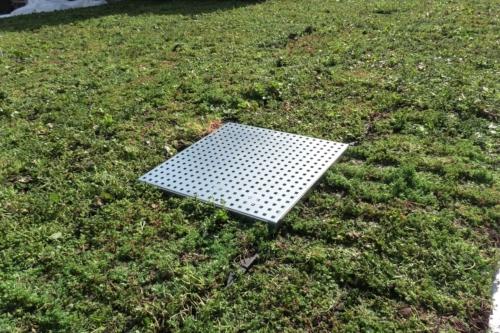 HydraLook grille d'avaloir pour toiture verte