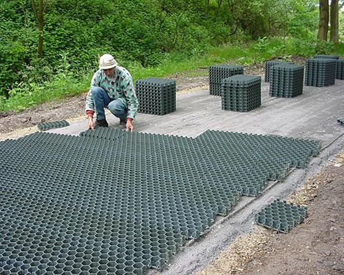 RitterDal gazon la dalle gazon avec une structure en nids d'abeilles