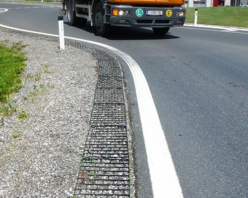 Road Edge Pave la dalle ultra résistante pour les bords de routes