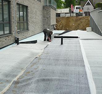 RoofDrain: drainagemat en mechanische bescherming voor groendaken
